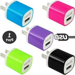 1-Port USB Portable Wall Adapter Charger 1 Amp Smartphone Ta