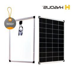 100W watts Solar Panel 12V for off-grid RV marine cabin camp