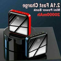 20000mAh Power Bank Dual USB UltraThin Portable External Bat