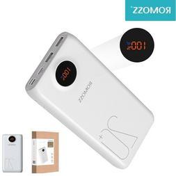 20000mAh Power Bank Portable Battery Charger USB-C Quick Cha