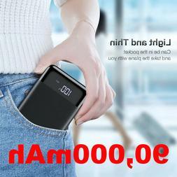 20000mAh Power Bank UltraThin USB Portable External Battery