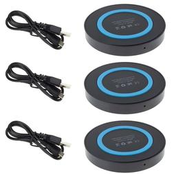 3x Portable Wireless Charger Pad Mat for Samsung Galaxy Note