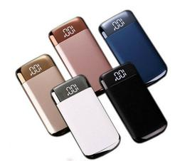 90,000mah Portable Power Bank LCD LED 2 USB Battery Charger