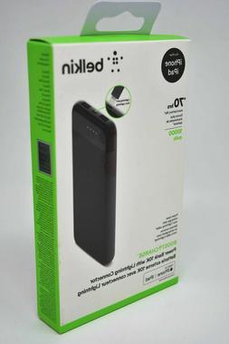 Belkin Boost Charge Portable Power Bank Battery 10000mAh Lig