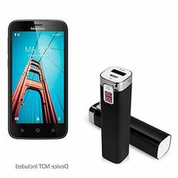 BoxWave Coolpad Defiant Charger,  2600 mAh Compact Portable