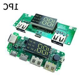 Digital Display Circuit Dual USB Accessories Battery Chargin