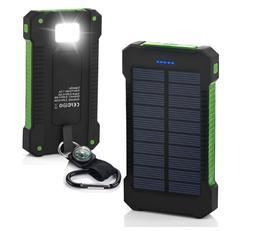 POWERNEWS 2000000mAh USB Portable Battery Charger Solar Powe