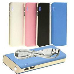 13000mAh USB External Portable Charger Power Bank for Smartp