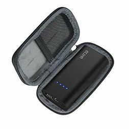 hermitshell hard eva travel black case fits