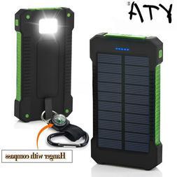 Hot Solar Power Bank Waterproof 30000mAh Solar <font><b>Char