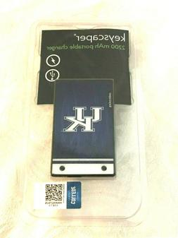 Keyscaper University of Kentucky 2200 mAh Portable USB Charg