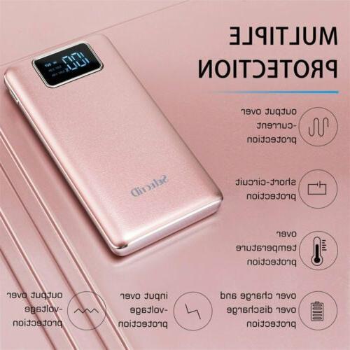 2 USB Fast Charging Greenest Portable Power Bank 100000mAh L