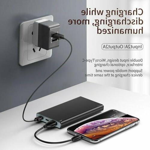 Baseus Power Portable LED Phone Battery US