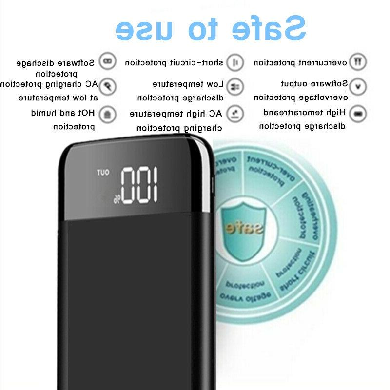 2000000mAh LCD 2 External Phone