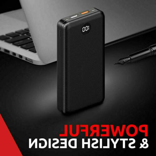 20000mAh Portable Power Battery Pack PD/18W Charger