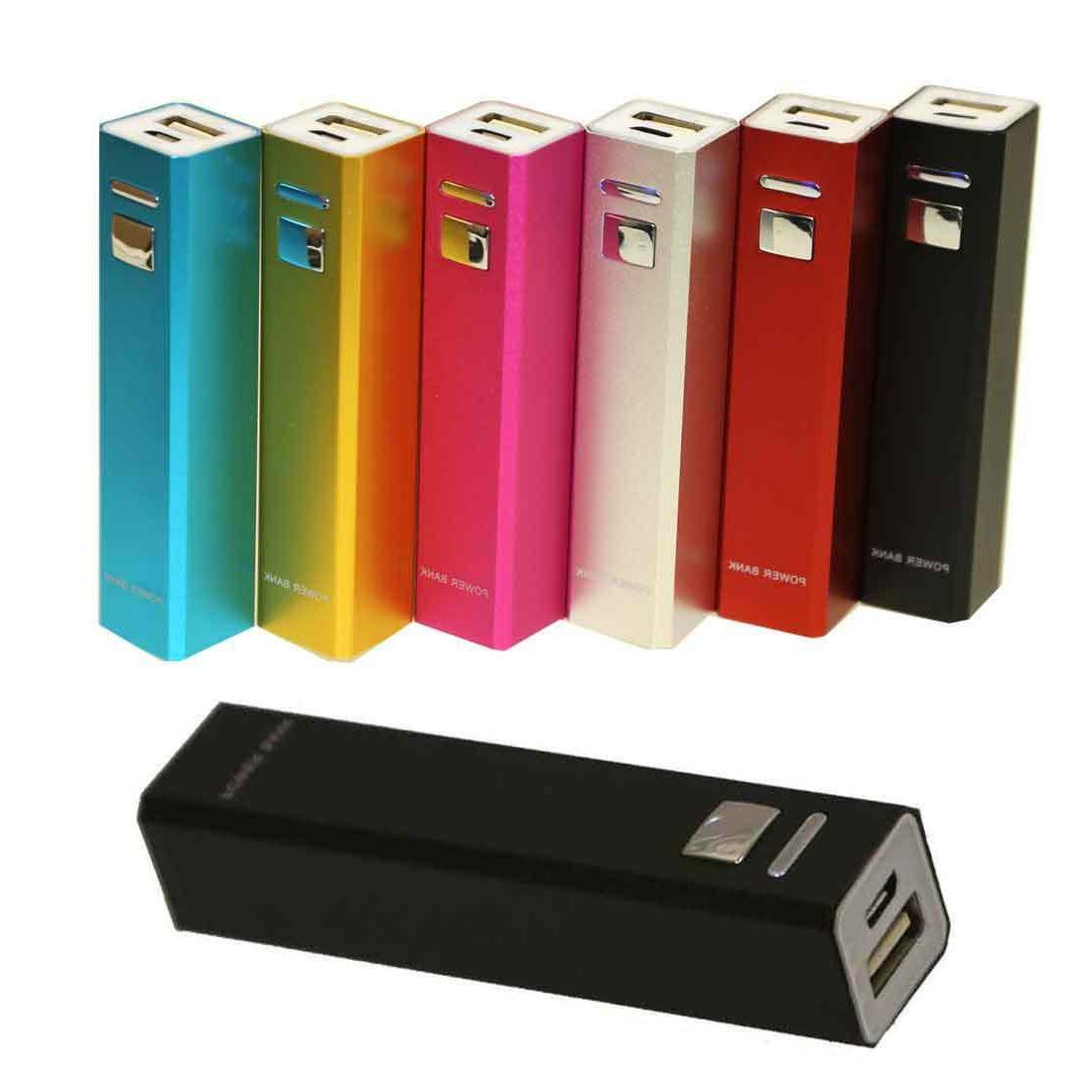 2600mAh Portable Battery Charger Mobile iPhone