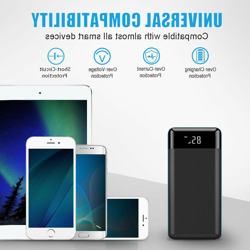 Portable 500000mAh Bank Battery For Cell Phone