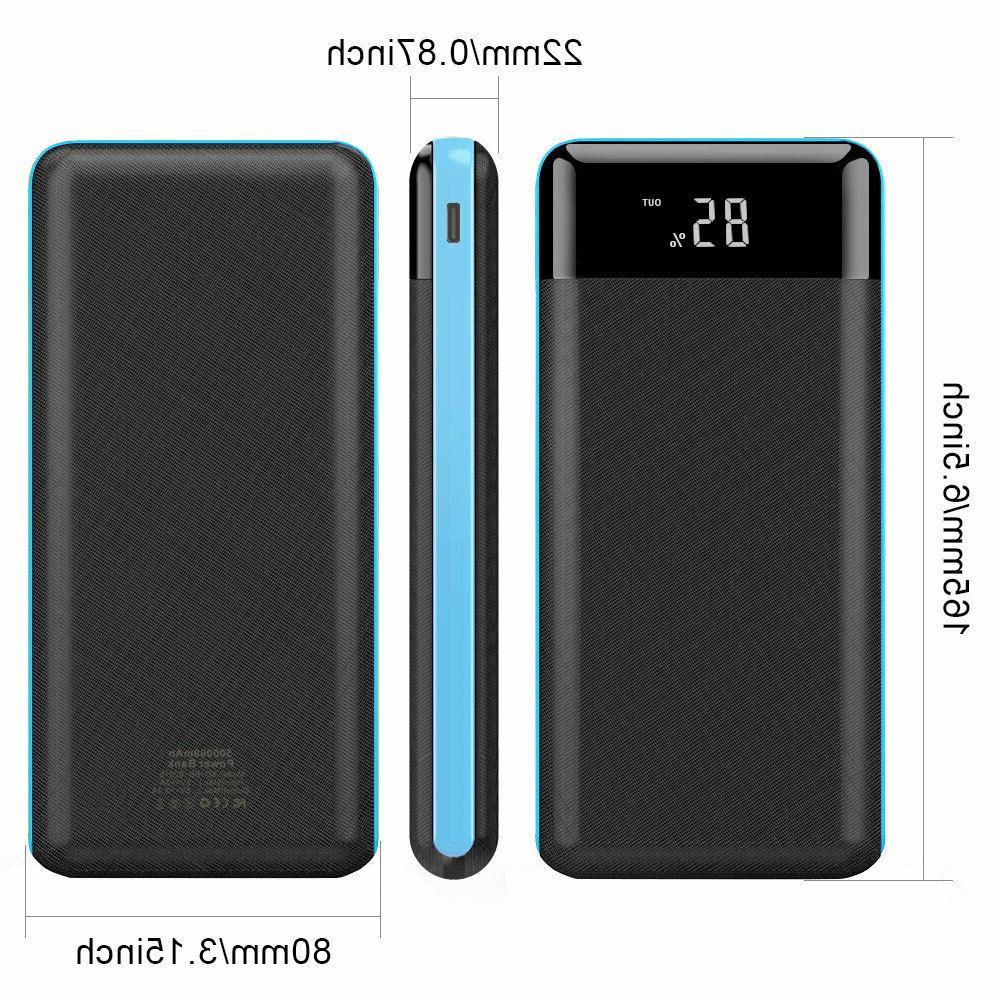 Portable Power Bank External Battery Cell Phone
