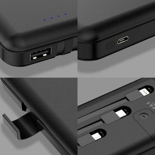 500000mAh Power LED USB Portable External Charger