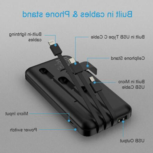 500000mAh USB Portable Charger Cell