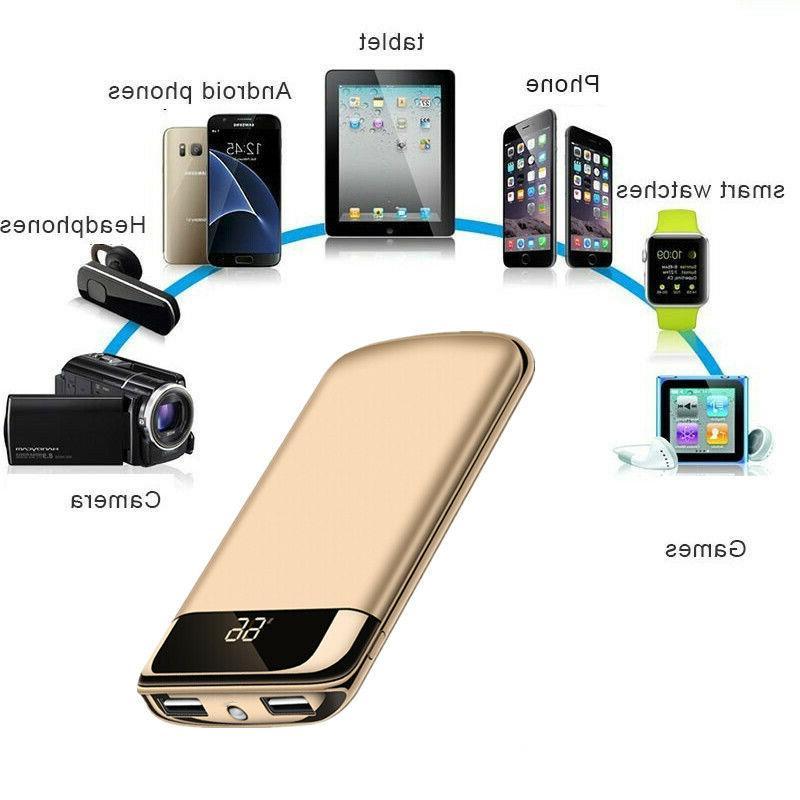 500000mAh Power Bank 2 Battery Pack Phone