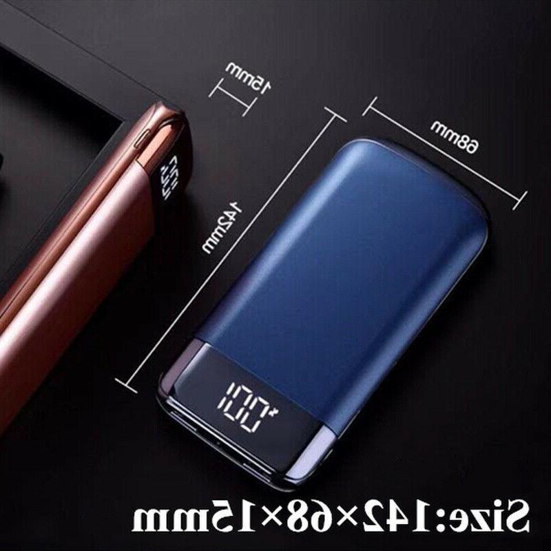 500000mAh Power 2 USB Battery Pack Phone
