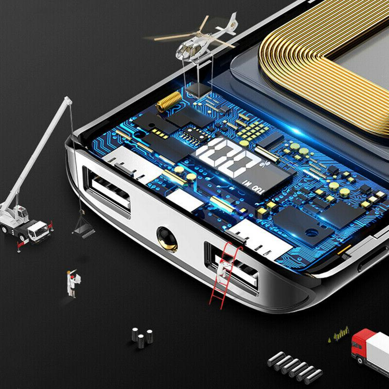 500000mAh 2 USB External Battery for Phone