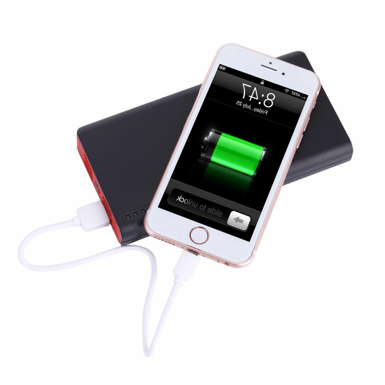 900000mAh USB Power Bank Portable LED Charger Phone