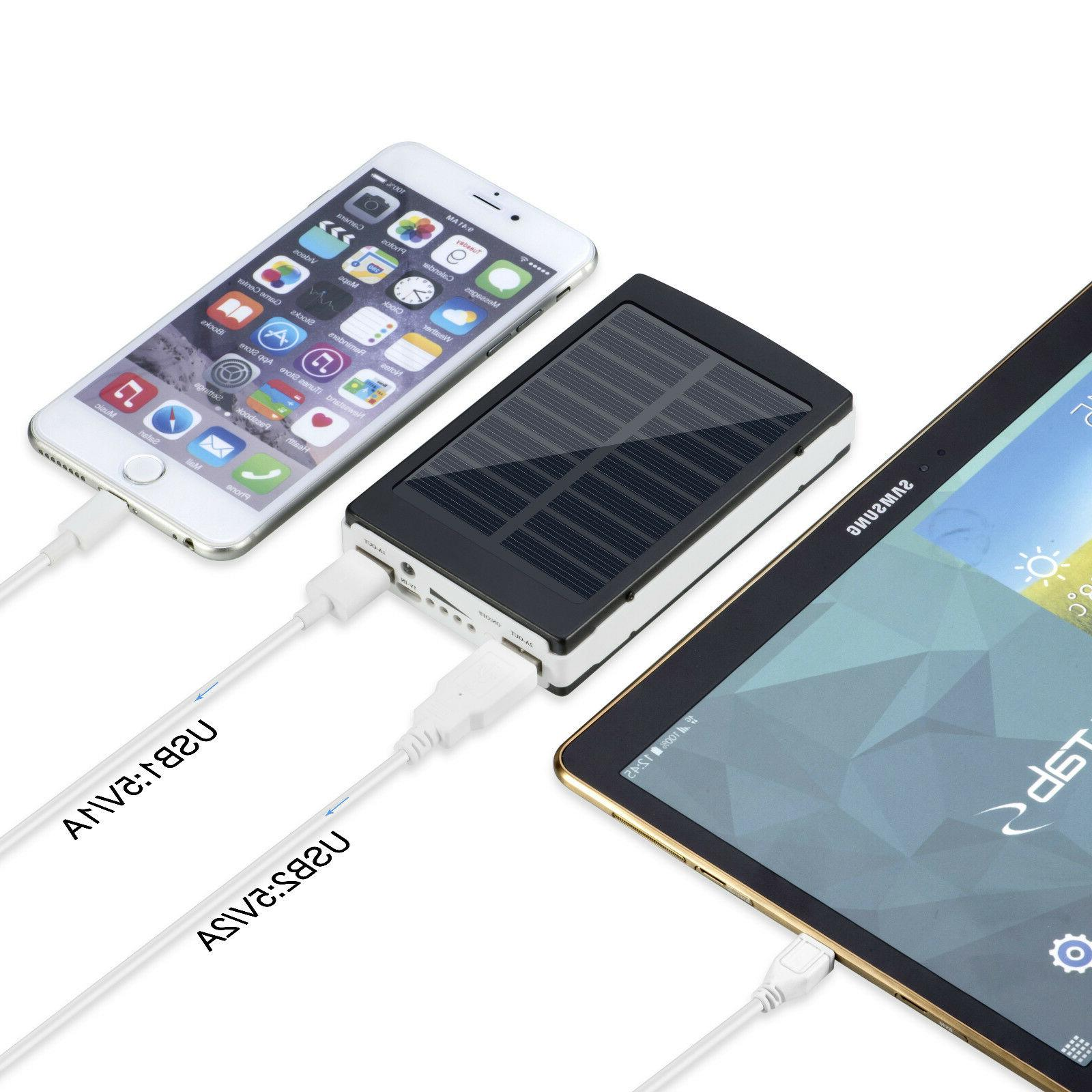 900000mAh USB Portable Power Bank External Backup Charger UltraThin