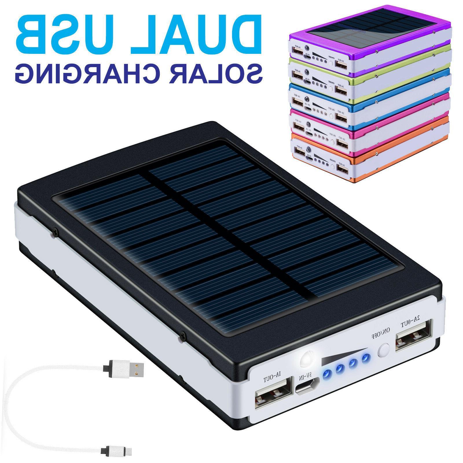 900000mah dual usb portable power bank external