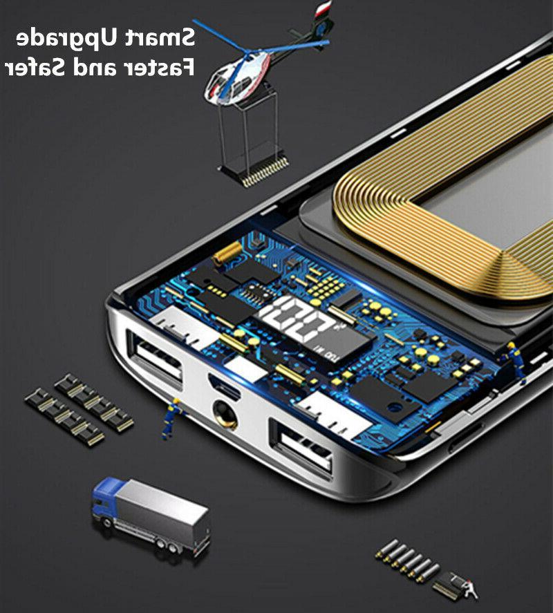 2000000mAh Bank LCD USB Battery Phone