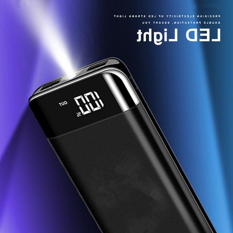 2000000mAh Power Bank LCD Battery for Phone