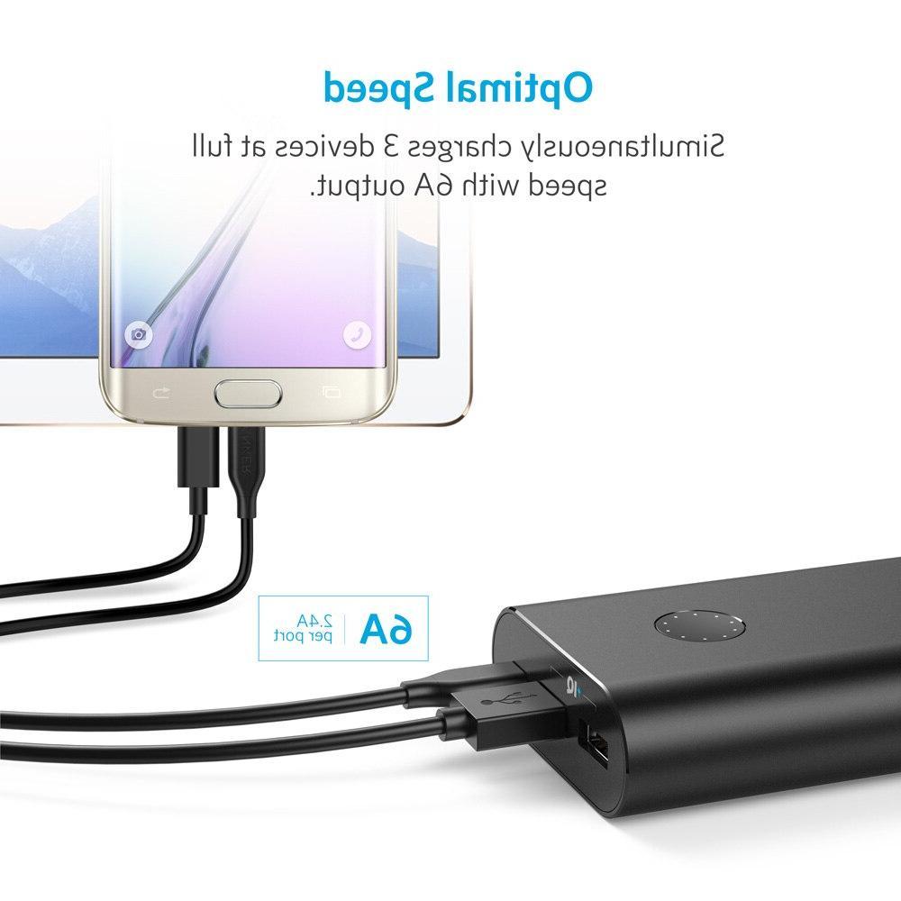 <font><b>Anker</b></font> PowerCore+ mAh USB-C,Ultra-High Capacity External Battery PowerIQ iPhone,Samsung,MacBook etc