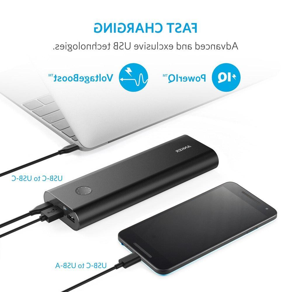<font><b>Anker</b></font> USB-C,Ultra-High Capacity External PowerIQ iPhone,Samsung,MacBook etc