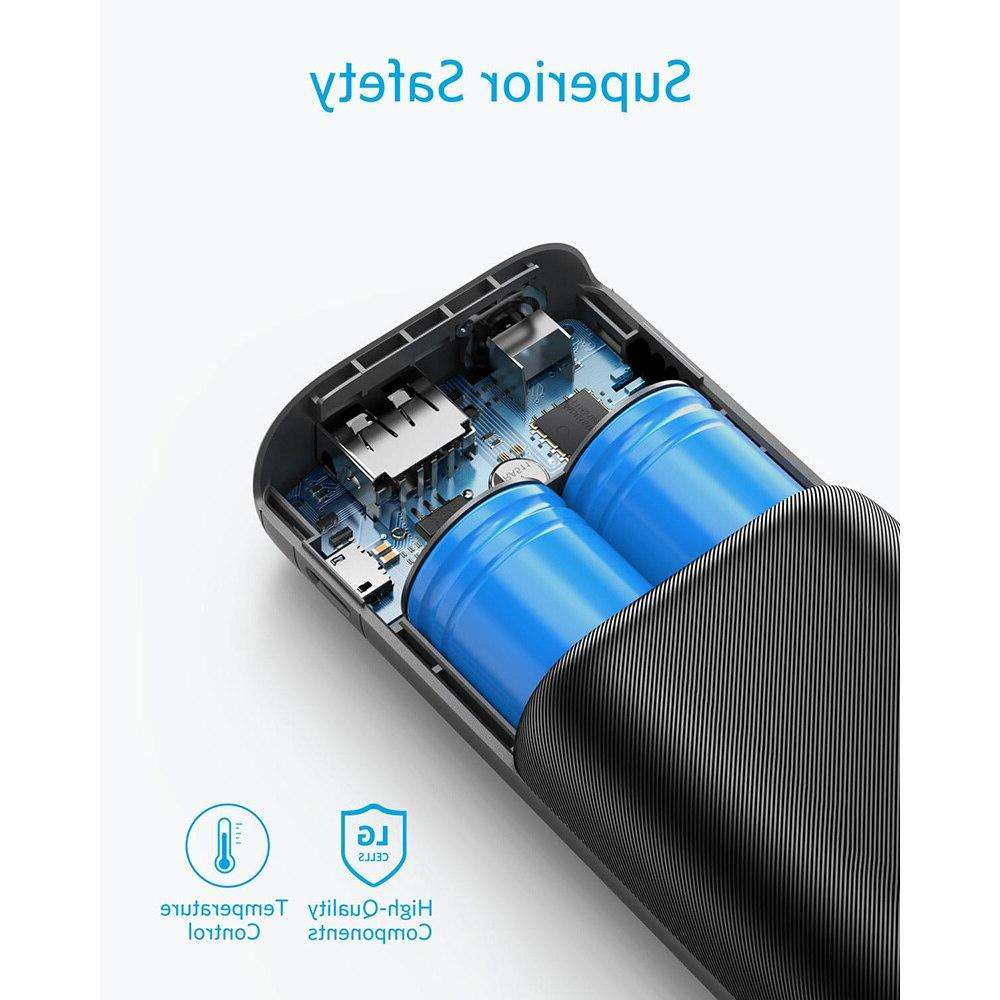 <font><b>Anker</b></font> PowerCore Redux, Ultra-Small Power Bank, <font><b>Portable</b></font> for Samsung Galaxy, and
