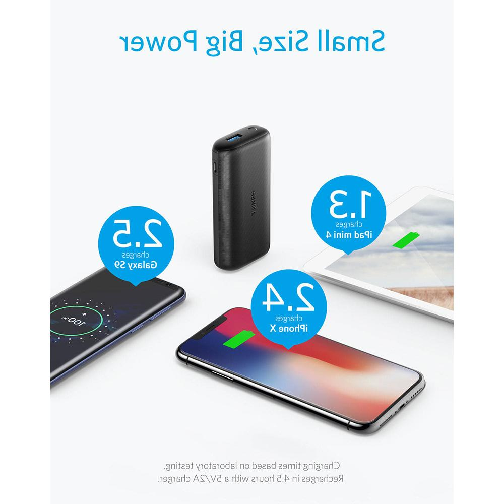 <font><b>Anker</b></font> Ultra-Small Power <font><b>Portable</b></font> <font><b>Charger</b></font> Samsung