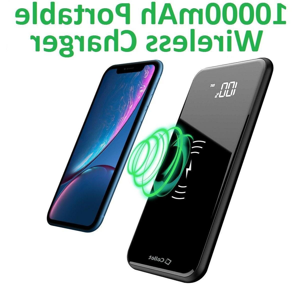 Portable Wireless Power USB Ports USB-C Port