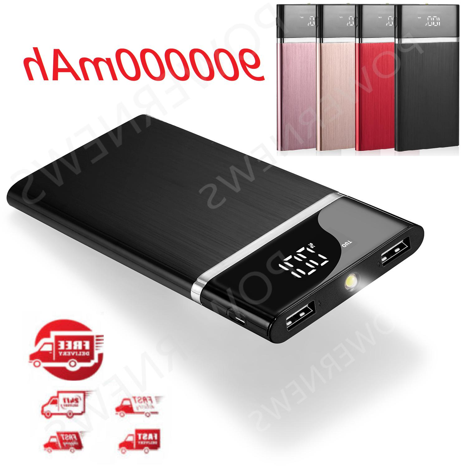 Portable Bank Battery Charger For