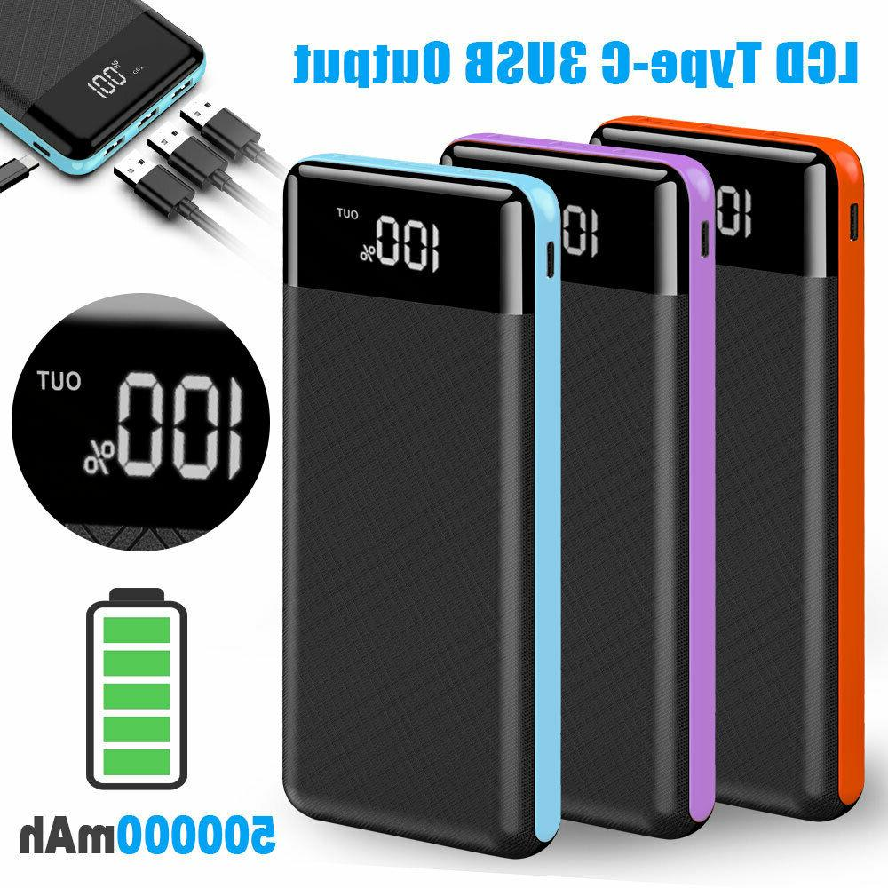 Portable Bank Battery Charger Phone