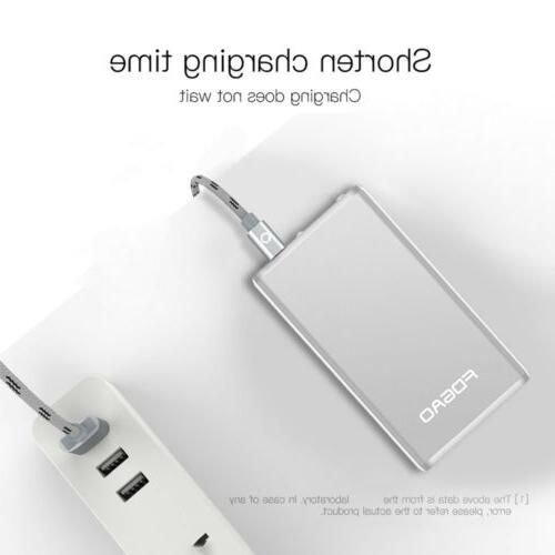 Portable USB Power Bank Charger For iPhone