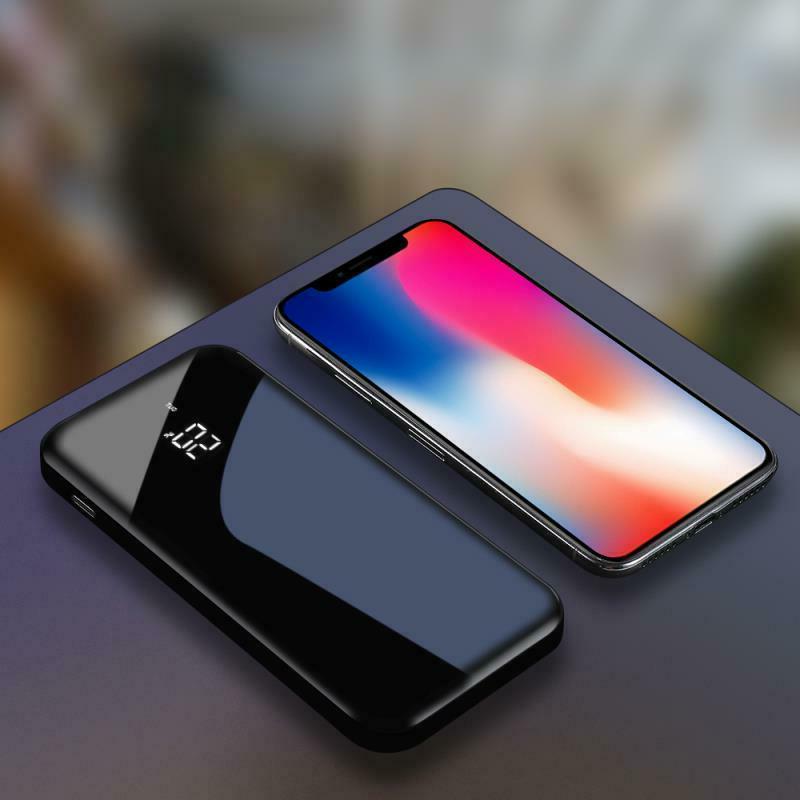 Power 900000mAh Wireless Portable Fast