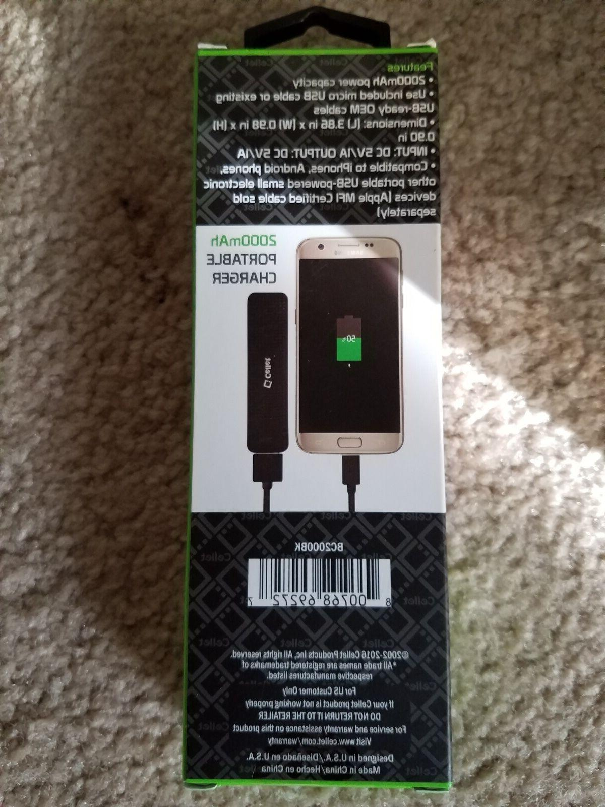 POWER BANK CABLE INCLUDED USE CHARGER