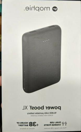 power boost xl portable charger 10400mah new