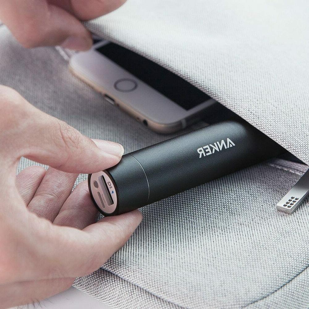 Anker PowerCore+ Lipstick-Sized Portable