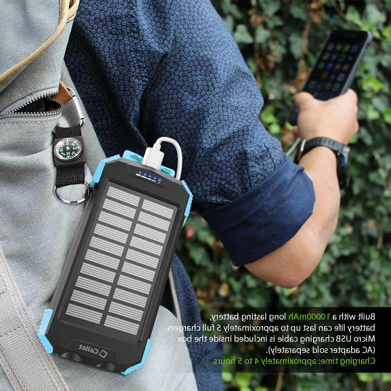 Cellet Solar Outdoor Portable Wireless Power Bank