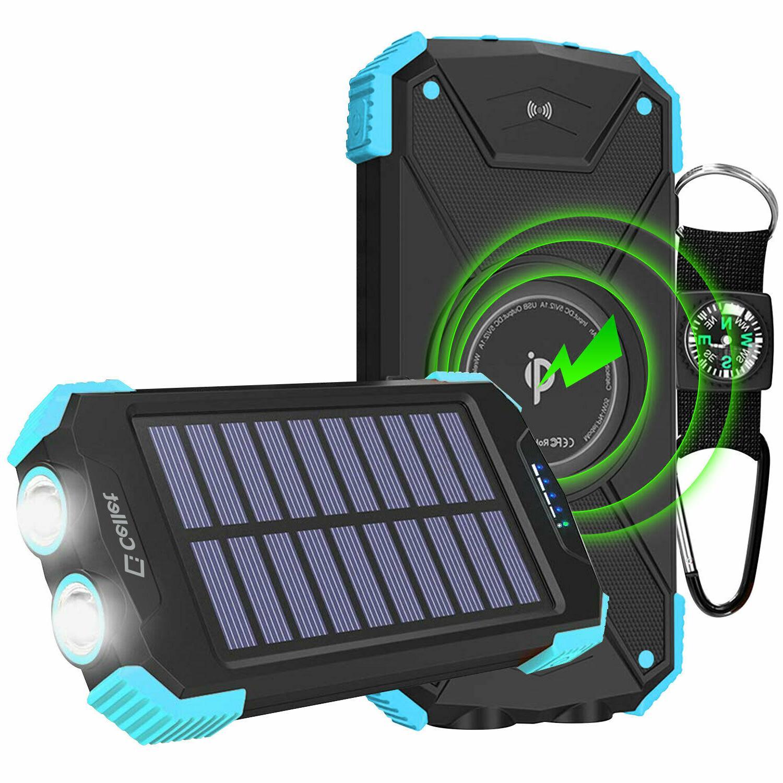 Cellet Powered 10000mAh Outdoor Portable Power Bank