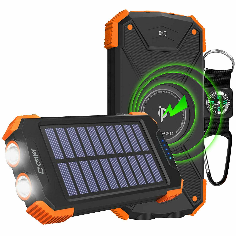 Cellet Solar Powered 10000mAh Outdoor Power