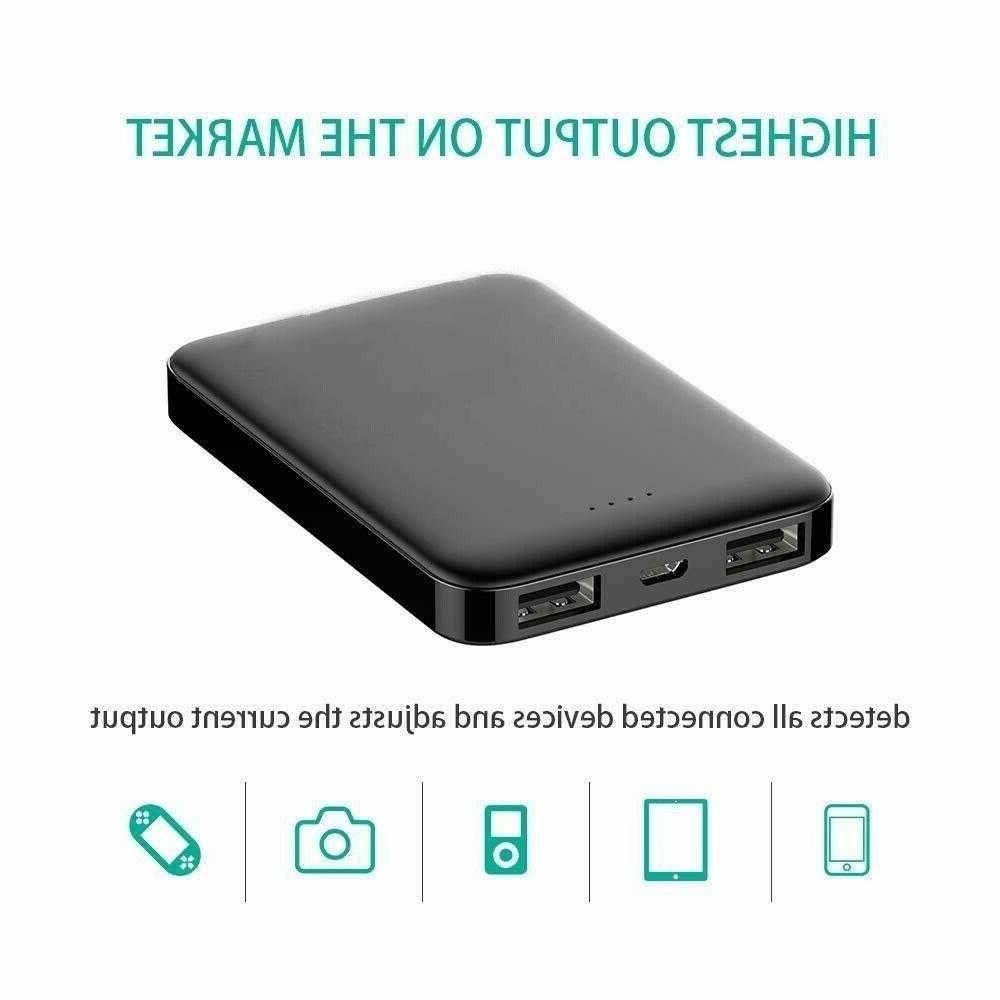 Ultra Dual USB External Battery Portable Charger Phone