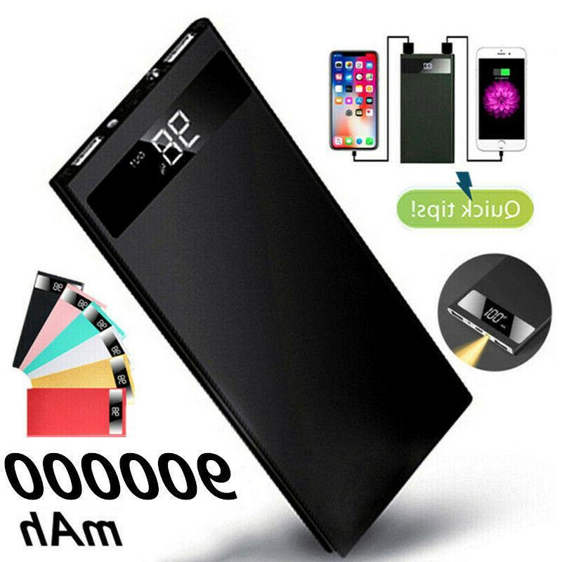 ultrathin 900000mah portable external battery charger power