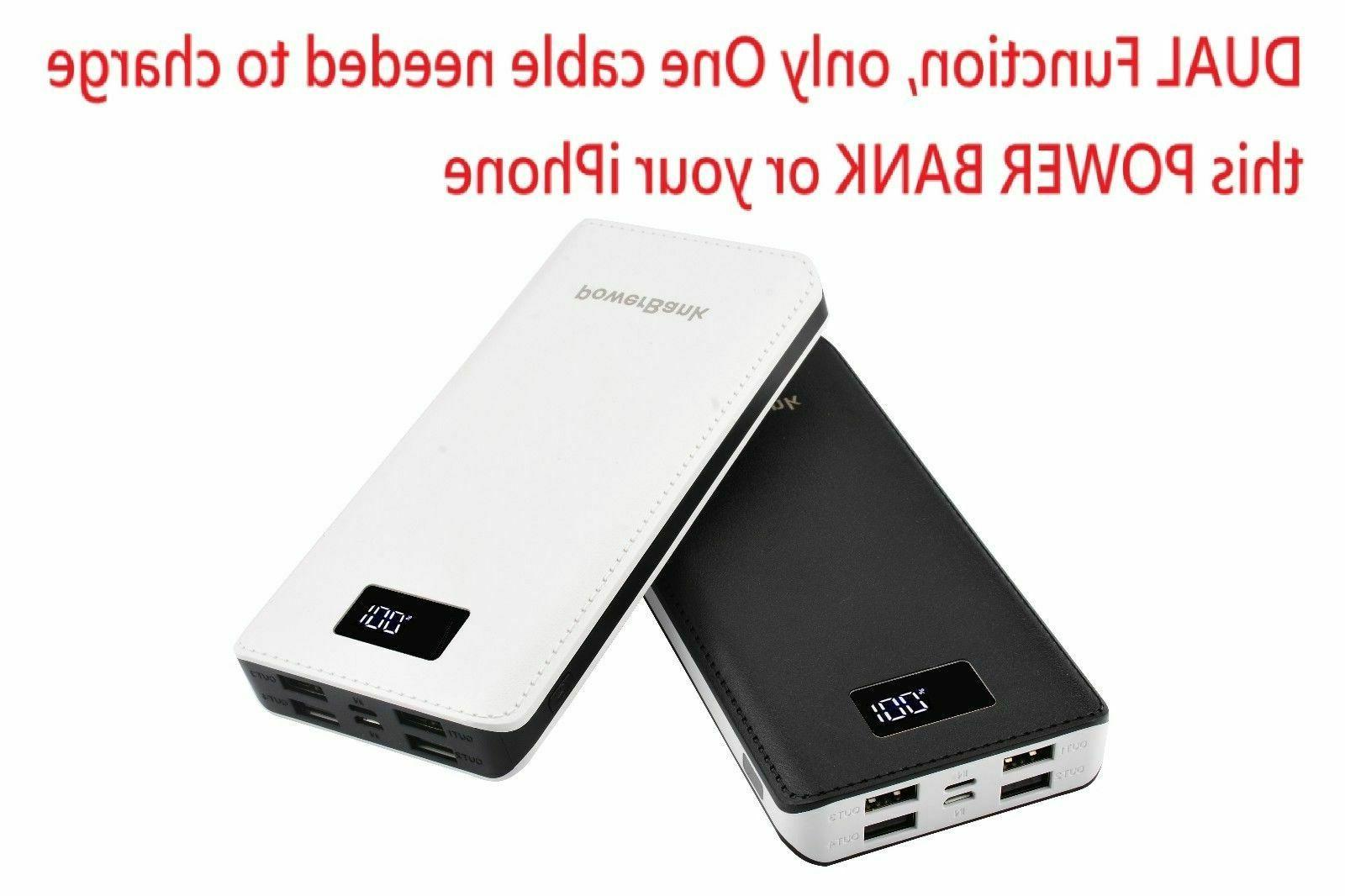 USA Power Bank 4 USB Mobile